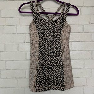 Happy Strappy Tank Sz 6 Ace Spot Dottie Dash Grain